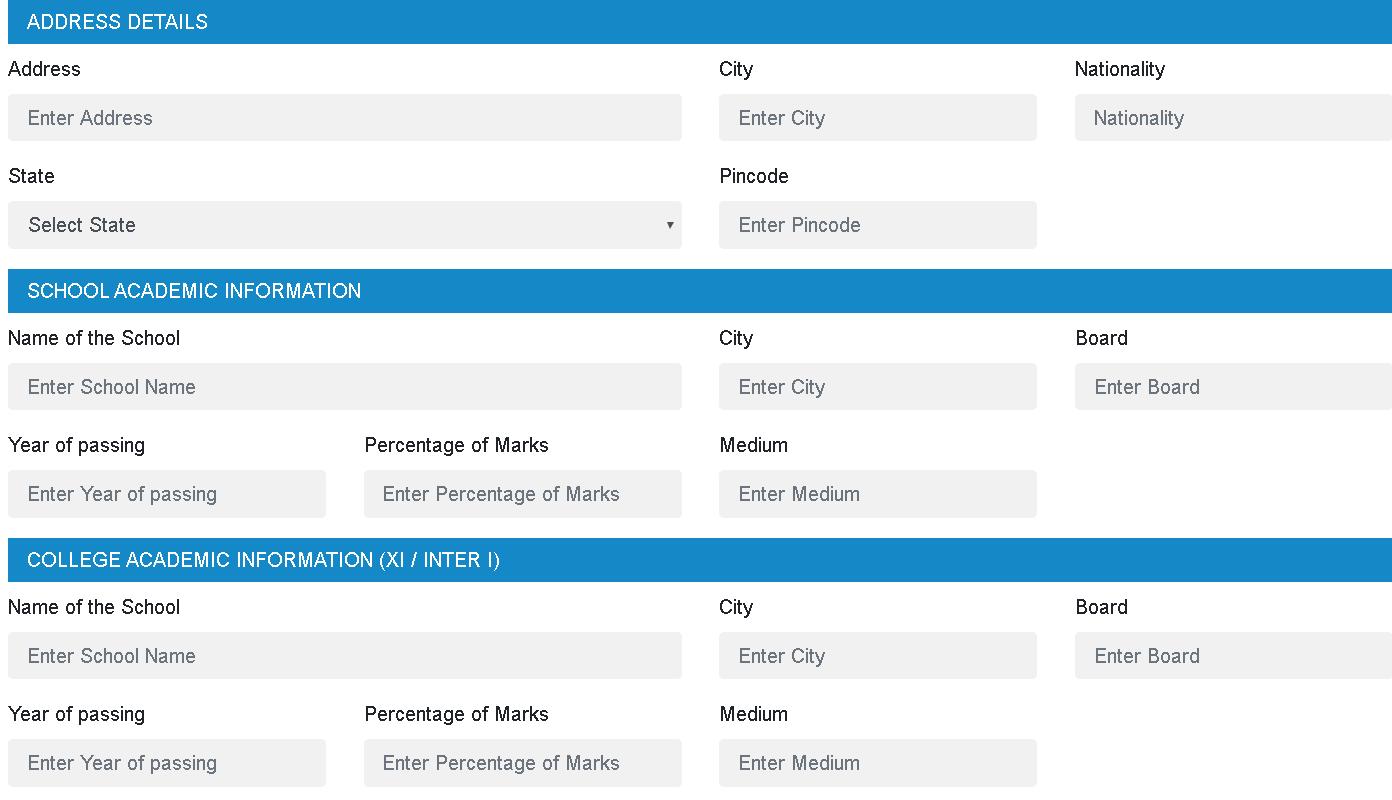 ILSAT Application Form Details