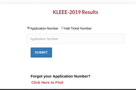 KLUEEE Result 2019