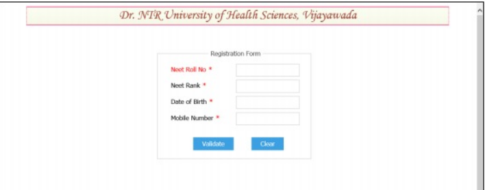 NTRUHS-BAMS-BHMS-BNYS-Application-Form-2019-Step-II