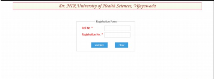 NTRUHS BAMS BHMS BNYS Application Form 2019 Step IV