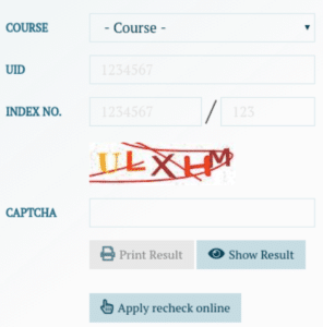 ISC 12th Class Result Login Section