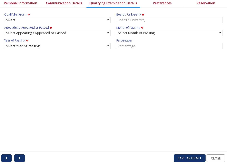 CLAT Registration Qualification Details