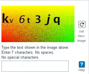 EFLU Application Form CAPTCHA Code