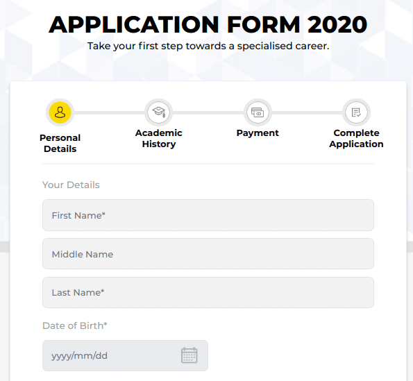 UPES Online Application Form