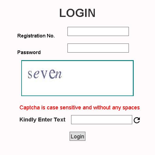 JNVST 6th Class Admit Card Login Section