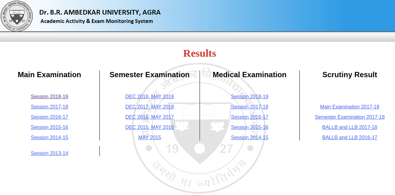 DBRAU Results