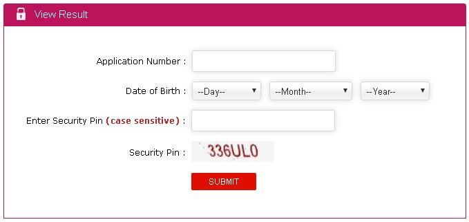 JEE Main Security Pin Registration, Login, Admit card