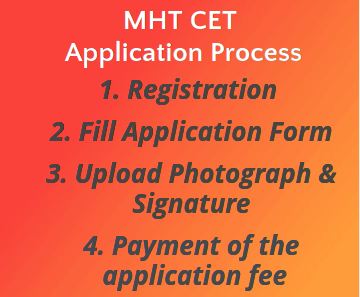 MHT CET Application Process