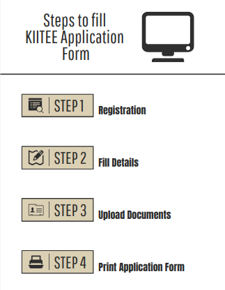 Steps to fill KIITEE Application form