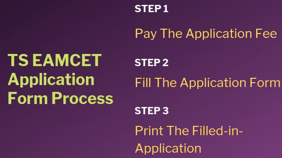 TS EAMCET Application Process
