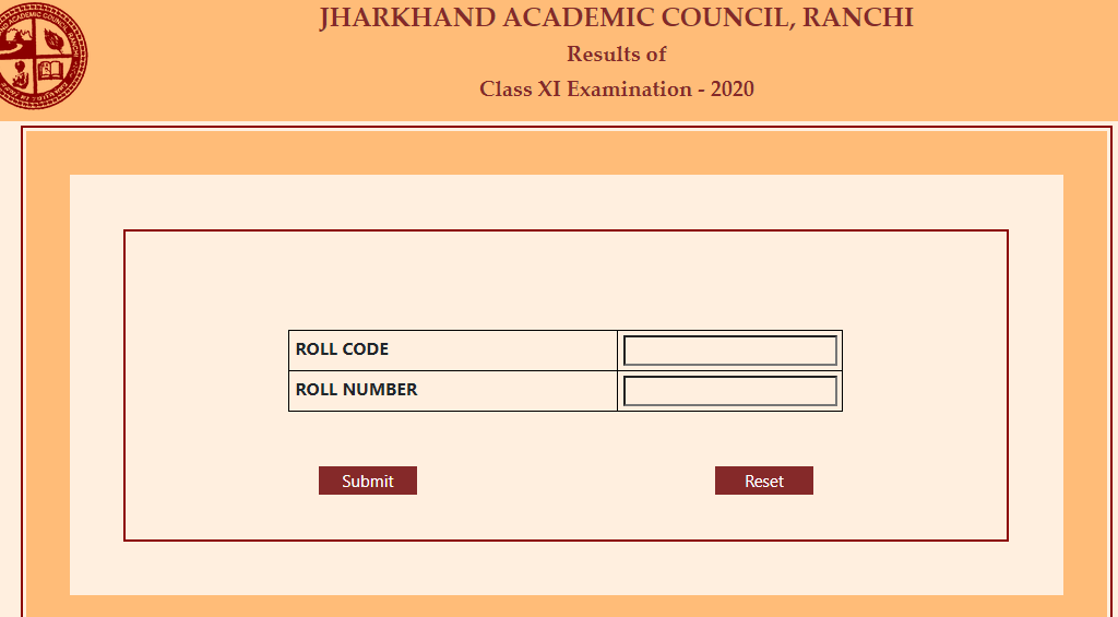 JAC 11th Class Result