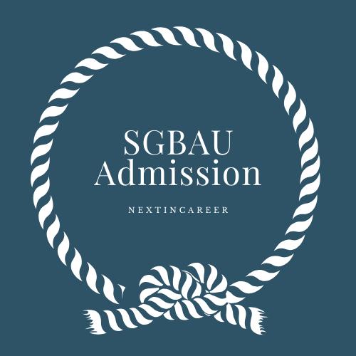 SGBAU Admission