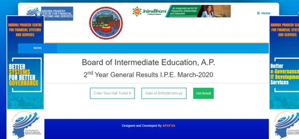 AP Board 12th Result