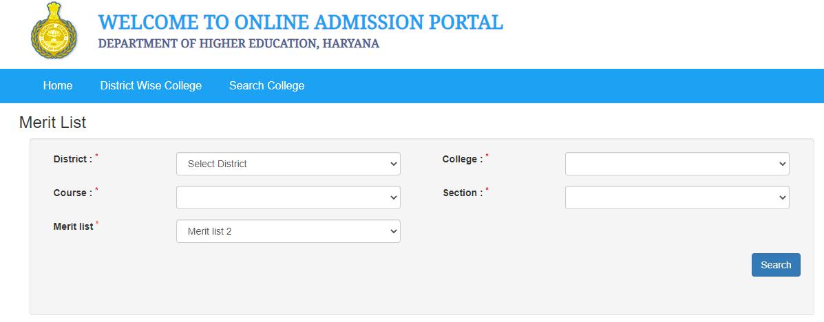 Haryana Higher Education