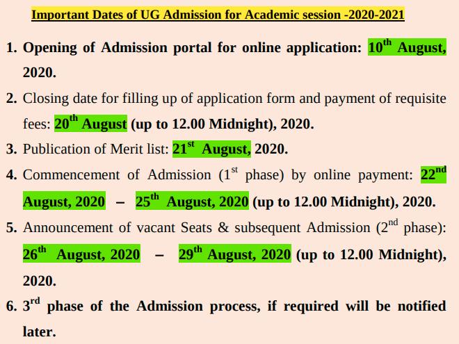 Bhairab Ganguly College dates