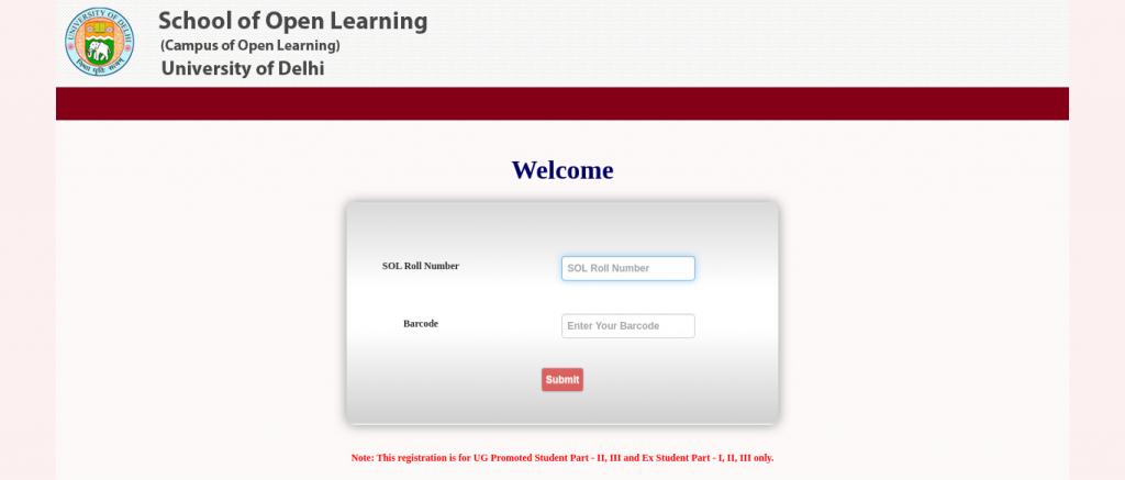 Open School of Learning, DU