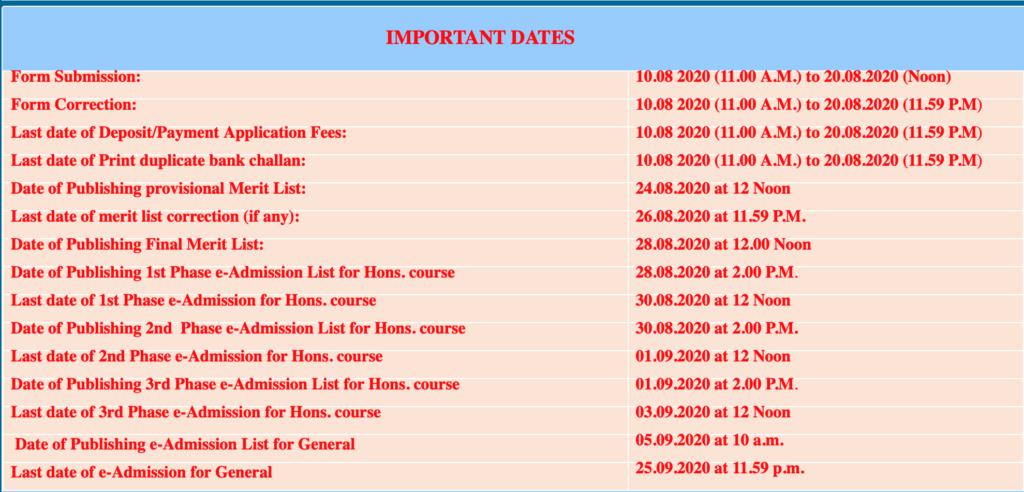 Nagar College Schedule