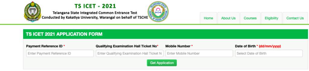 TSCHE Application Form
